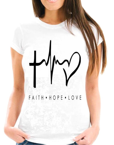 Faith Hope Love Short-Sleeve T-Shirt
