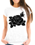 Black Rose Short-Sleeve T-Shirt