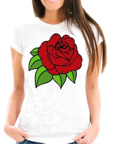 Red Rose Two Short-Sleeve T-Shirt