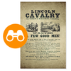 View Lincoln Cavalry Poster