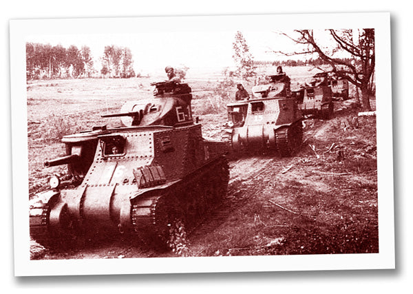 Soviet M3 Lee tanks of the 6th Guards Army Kursk - July 1943