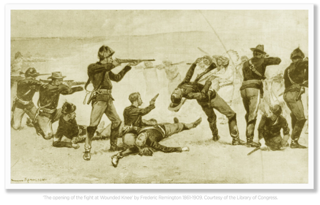 The Massacre Of Wounded Knee 1890