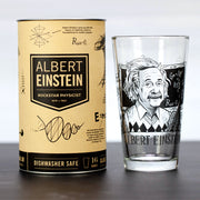 The Albert Einstein Pint Glass