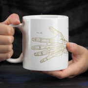 The Anatomical Hand 20 oz Mega Mug