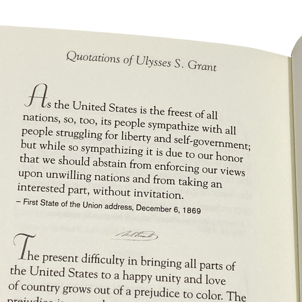 Quotations of Ulysses S. Grant