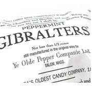 Peppermint Gibraltars - 1806 Recipe Candy