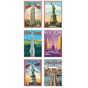 Vintage Syle New York City Postcard Set