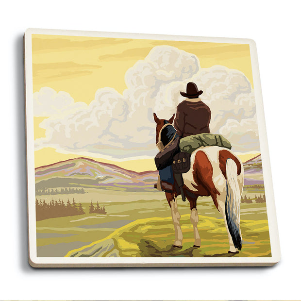 The Cowboy Coaster Set