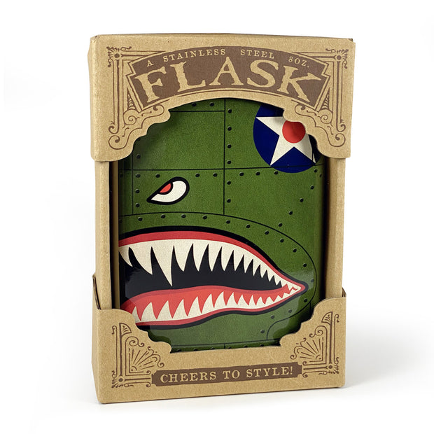 The P-40 Warhawk Flask