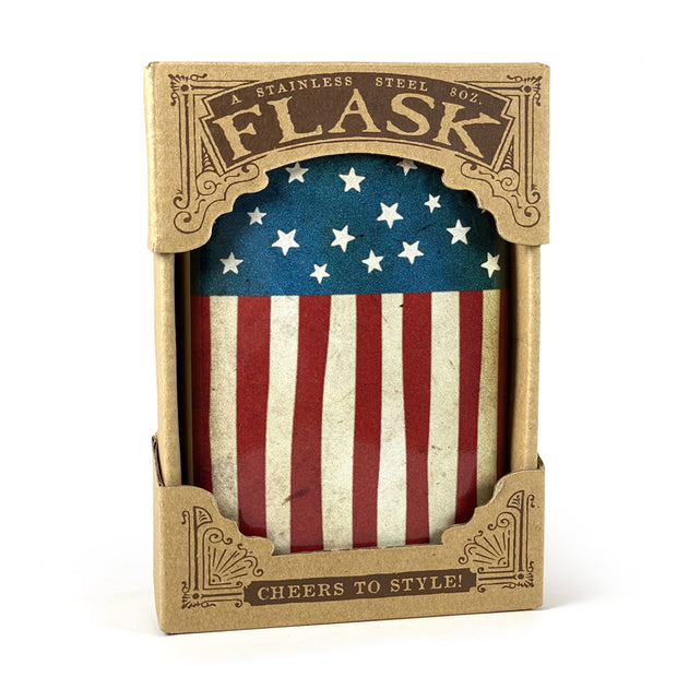 The Old Glory Flask