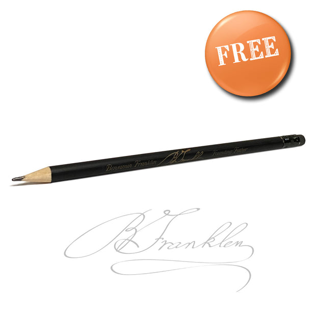 The Apache Die Cast Sharpener With Free Franklin Pencil