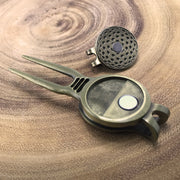The Winchester Rifle Golf Divot Tool & Ball Marker Set