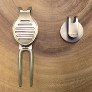 The Spitfire Golf Divot Tool & Ball Marker Set