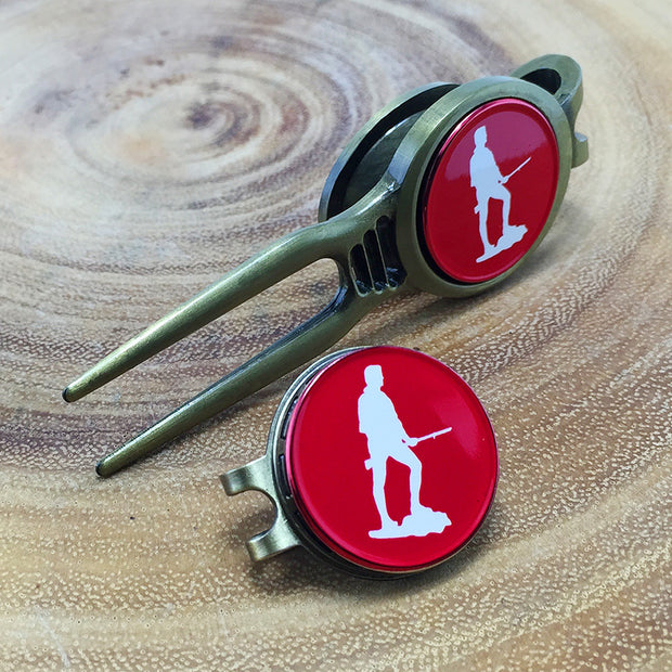 Minute Man Golf Divot Tool &  Ball Marker Set