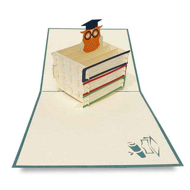 The Wise Owl Pop-Up Card