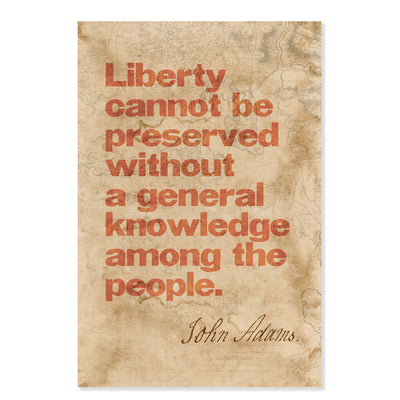 Liberty Cannot Be Preserved... Classic Poster