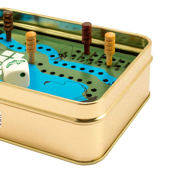 Vintage Style Fish Pond Game Tin Set