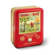 Vintage Game of Golf Tin Set