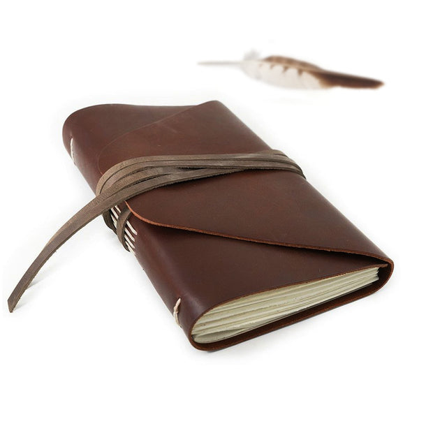 Frontier Leather Messenger Journal