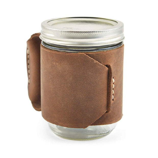The Forty-Niner Leather Miner Mug