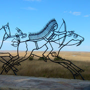 Indian Memorial at the Little Bighorn Battlefield National Monument