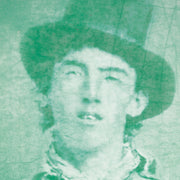 Billy The Kid Tin Type Style