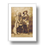 Sitting Bull &  Buffalo Bill Cody