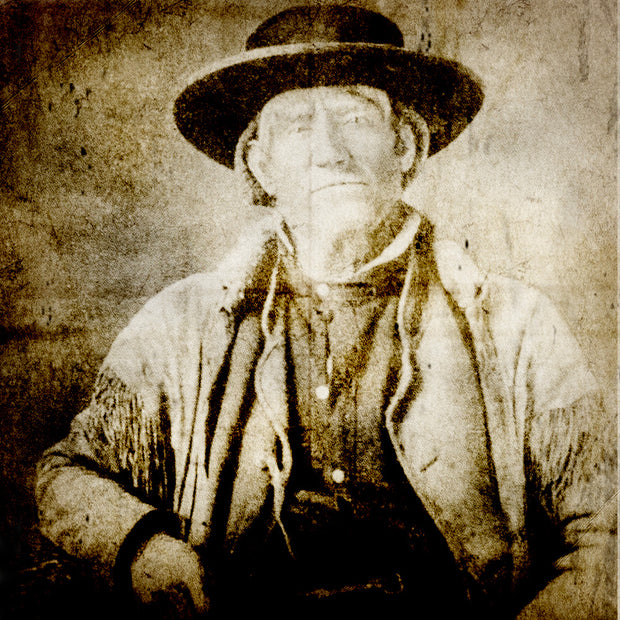 James Felix Bridger, American mountain man, trapper and guide.