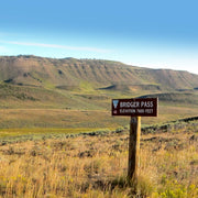 Bridger Pass. A mountain pass in Carbon County, Wyoming in the USA