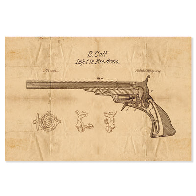 Patent Pended - Colt Fire Arm 1839