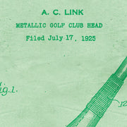 Patent Pended - The Golf Driver 1926