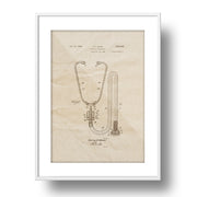 Patent Pended - The Stethoscope 1945