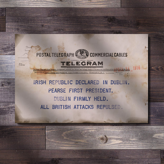 Telegram - Irish Republic Declared