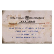 Irish Republic Declared Telegram Classic Poster
