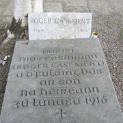 The grave of Roger Casement's at Glasnevin Cemetery.