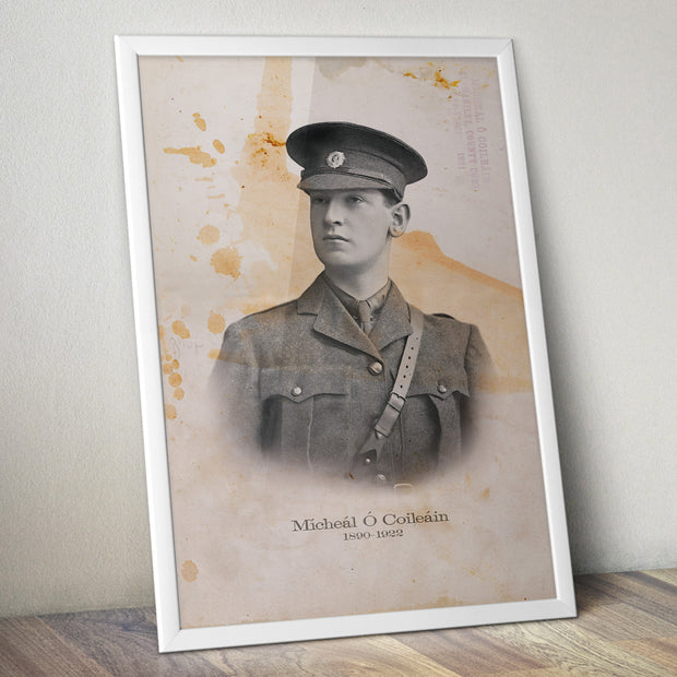 "Michael Collins  ""The Big Fellow"" Classic Poster"