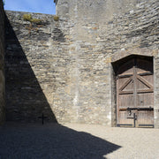 Site of James Connolly's execution at Kilmainham Gaol, Dublin Ireland