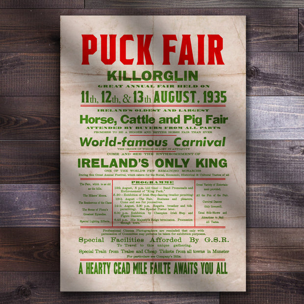 The Killorglin Puck Fair