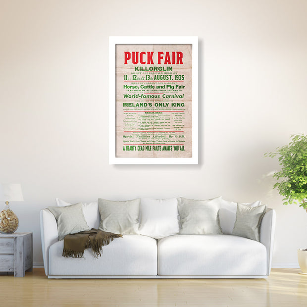 The Killorglin Puck Fair Classic Poster