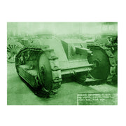 The Ford 3-Ton M1918 Tank Classic Poster
