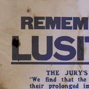 Remember The Lusitania