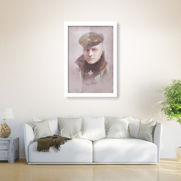 Manfred von Richthofen - The Red Baron Classic Poster