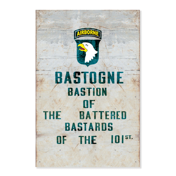 The Battered Bastards of Bastogne Poster