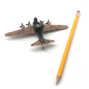 B-17 Bronze Die Cast Sharpener With Free Franklin Pencil