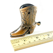 The Cowboy Boot Sharpener With Free Franklin Pencil