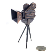 Vintage Style Movie Camera Sharpener With Free Franklin Pencil