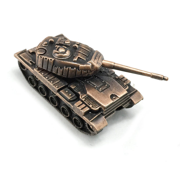 WW2 Tank Vintage Style Sharpener With Free Franklin Pencil