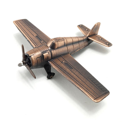 WW2 Fighter Plane Die Cast Sharpener With Free Franklin Pencil