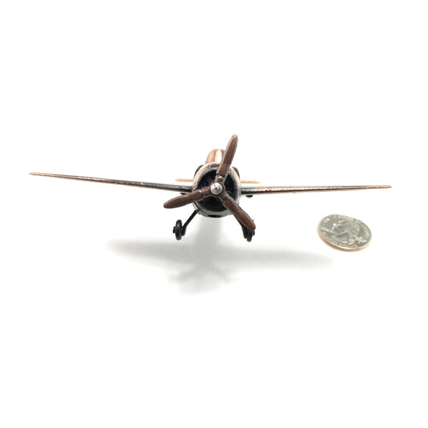WW2 Fighter Plane Die Cast Pencil Sharpener