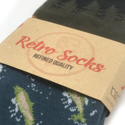 The Gone Fishing Retro Socks